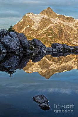 Photograph - Mountain Tarn by Sonya Lang