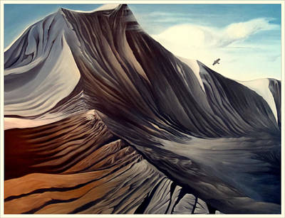 Painting - Mountain To Climb by Dawson Taylor