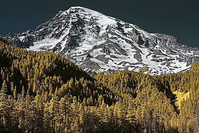 Photograph - Mountain Top by David Stine