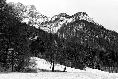 Photograph - Mountain Top In The Alps by John Rizzuto