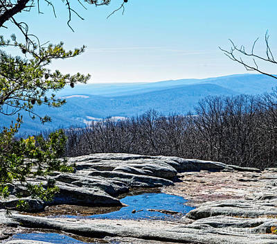 Photograph - Mountain Top Reflection by Paul Mashburn