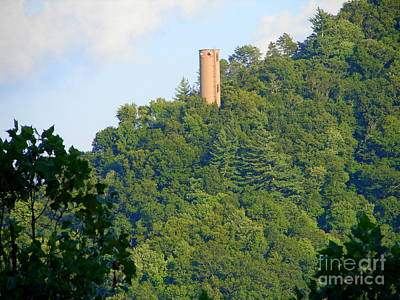 Photograph - Mountain Tower by Lew Davis