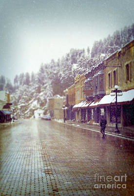 Photograph - Mountain Town In Winter by Jill Battaglia