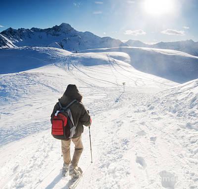 Alpine Photograph - Mountain Trekking by Michal Bednarek