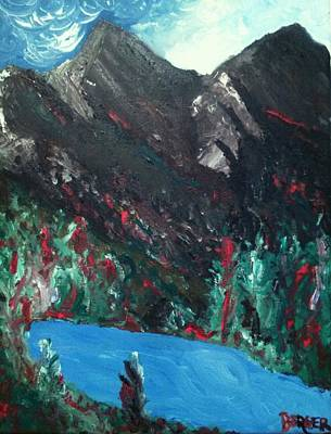 Painting - Mountain View by Darlene Berger