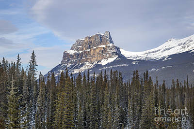 Alberta Rocky Mountains Photograph - Mountain View by Evelina Kremsdorf