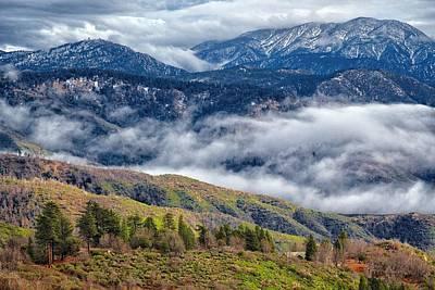 Photograph - Mountain View by Joe Urbz
