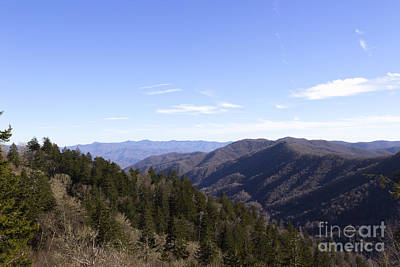 Photograph - Mountain View by Michael Waters