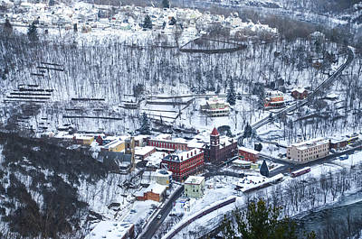 Mountain View Digital Art - Mountain View Of Jim Thorpe by Bill Cannon