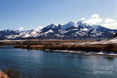 Gallatin River Photograph - Mountain View by Sharon Elliott