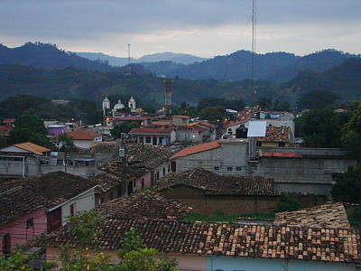 Photograph - Mountain Village Of Gracias by Lew Davis