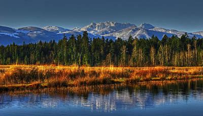 Mountain Vista Print by Randy Hall