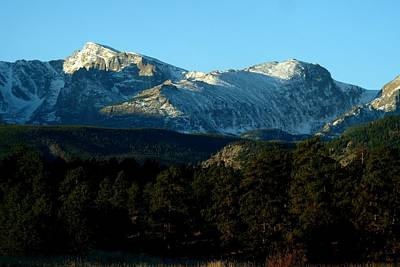 Photograph - Mountain Vistas - Taylor And Otis Peaks by Marilyn Burton