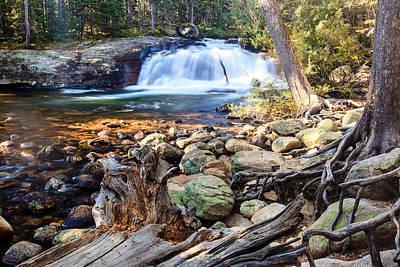 Photograph - Mountain Waterfalls by Ben Graham