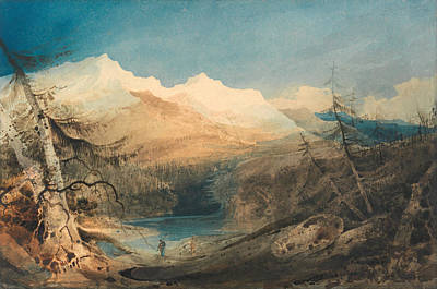 North Wales Painting - Mountainous Landscape. North Wales by John Sell Cotman