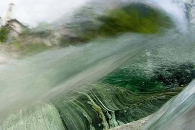 Effervescence Photograph - Mountainriver In Lavertezzo, Tessin by Gerard Lacz - Vwpics