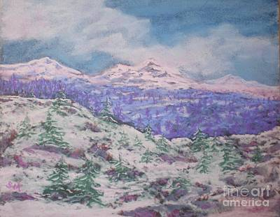 Painting - Mountains And Mist by Suzanne McKay
