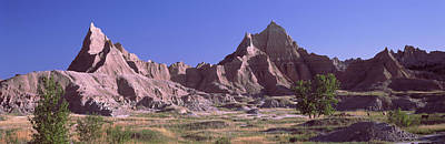 Mountains At Badlands National Park Print by Panoramic Images