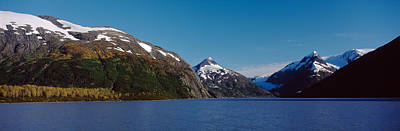 Chugach Mountains Photograph - Mountains At The Seaside, Chugach by Panoramic Images