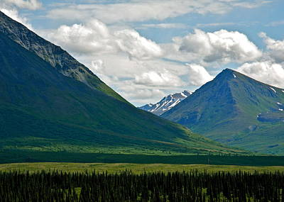 Photograph - Mountains In Alaska by Kirsten Giving