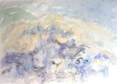 Painting - Mountains In Storm by Esther Newman-Cohen