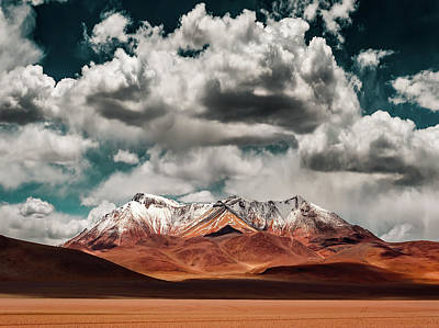 South America Wall Art - Photograph - Mountains In The Salvador Dali Desert - Bolivia by Hernan Calderon Velasco