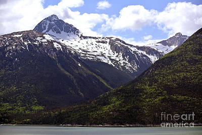 Photograph - Mountains Into Skagway by Gena Weiser