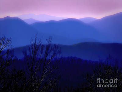 Photograph - Mountains Of Blue by Ken Johnson