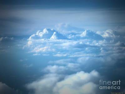 Photograph - Mountains Of Clouds by Luther Fine Art