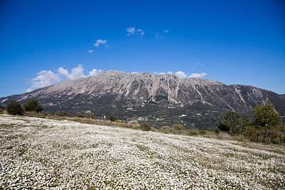 Lefkada Photograph - Mountains On Lefkada Island by Gabriela Insuratelu