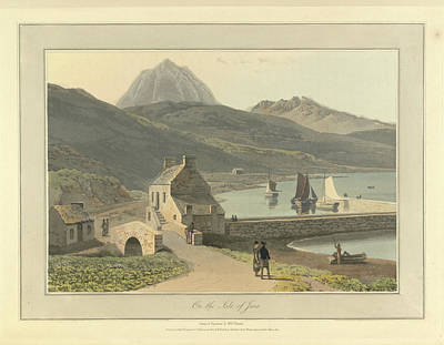 Mountains On The Isle Of Jura Art Print by British Library