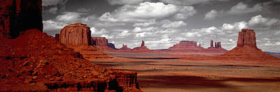 Mountains, West Coast, Monument Valley Art Print by Panoramic Images