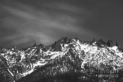 Photograph - North Cascade Mountain Range by Yulia Kazansky