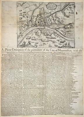 City Map Photograph - Mountauban by British Library
