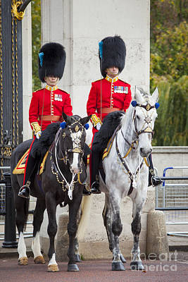 Changing Of The Guard Photograph - Mounted Guard by Brian Jannsen