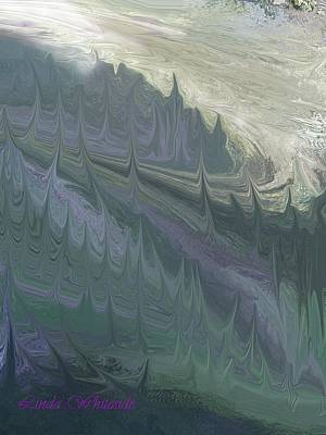 Art Print featuring the painting Mountian Magic by Linda Whiteside