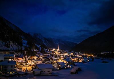 Photograph - Mountian Village by Soren Egeberg