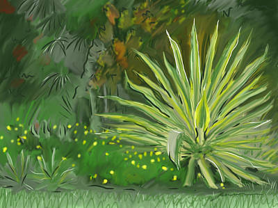 Painting - Mounts Botanical Garden by Jean Pacheco Ravinski