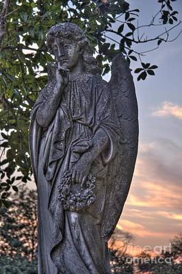 Photograph - Mourning Angel by Jonathan Harper