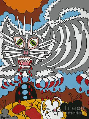 Mouse Dream Art Print by Rojax Art