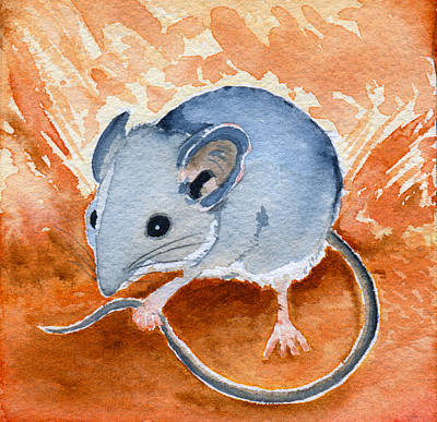 Painting - Mouse by Katherine Miller