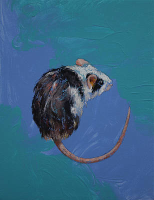 Mouse Art Print by Michael Creese