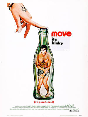 Covering Up Photograph - Move, Us Poster Art, Elliott Gould by Everett