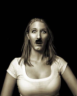 Photograph - Movember Eighteenth by Ashley King
