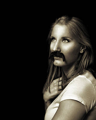 Photograph - Movember Ninth by Ashley King