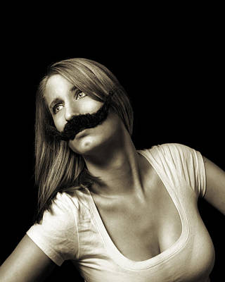 Photograph - Movember Seventeenth by Ashley King