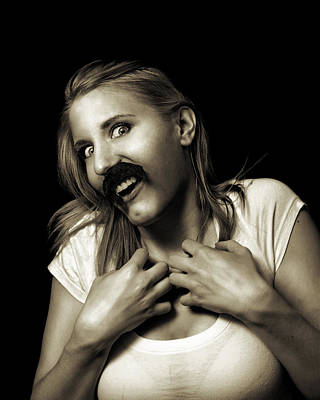 Photograph - Movember Sixteenth by Ashley King