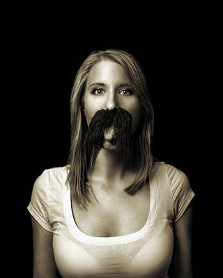 Photograph - Movember Tenth by Ashley King