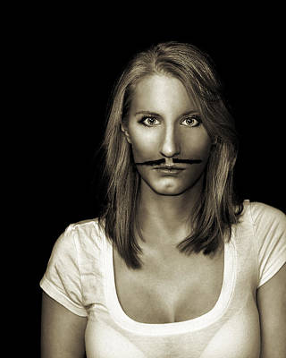 Photograph - Movember Thirteenth by Ashley King