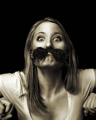 Photograph - Movember Twelfth by Ashley King